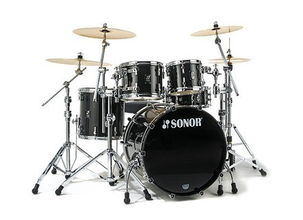 Sonor ProLite Studio 1 Shell Set - Stain High Gloss Brilliant Black