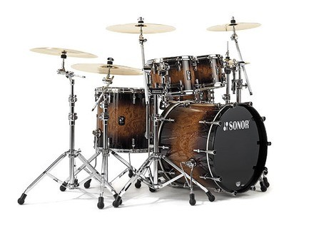 Sonor ProLite Studio 1 Shell Set - Veneer / High Gloss Walnut Brown Burst