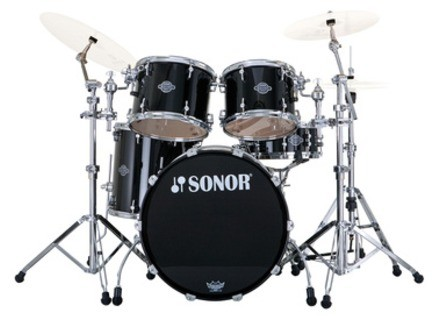 Sonor Select Force Studio Set - Chrome & Piano Black