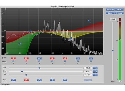 Sonoris Audio Engineering Mastering Equalizer