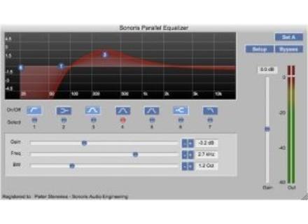 Sonoris Audio Engineering Parallel Equalizer