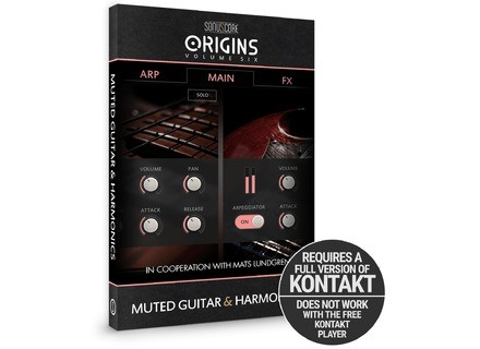 Sonuscore Origins Vol. 6: Muted Guitar & Harmonics