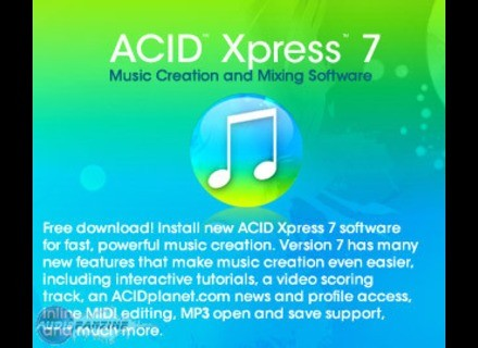 Sony ACID 7 Xpress