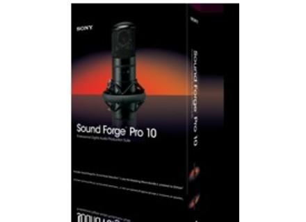 Sony Sound Forge Pro 10