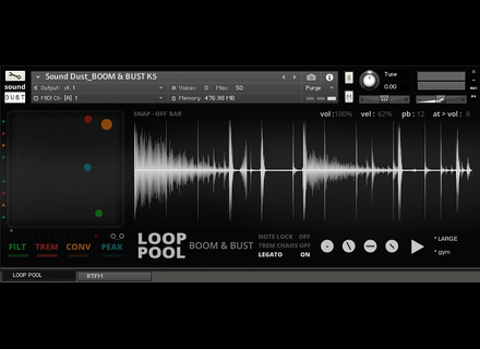 Sound Dust Loop Pool: Boom & Bust