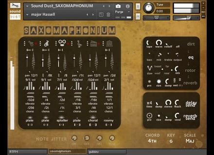 Sound Dust Saxomaphonium