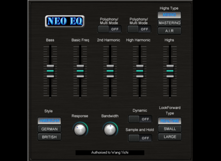 Sound Magic Neo EQ