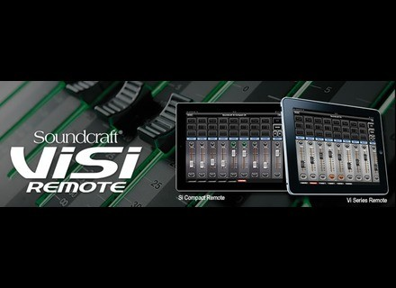 Soundcraft ViSi Remote