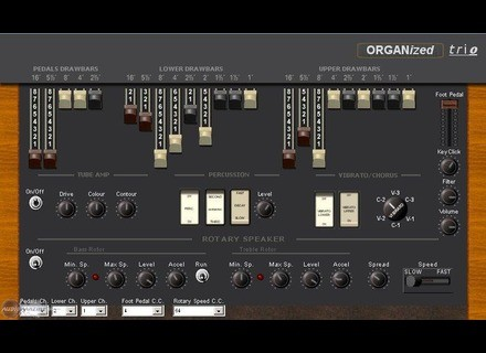 Soundfont.it ORGANized trio [Donationware]