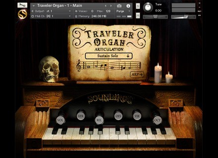 Soundiron Traveler Organ