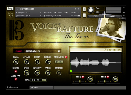 Soundiron Voice of Rapture : The Tenor