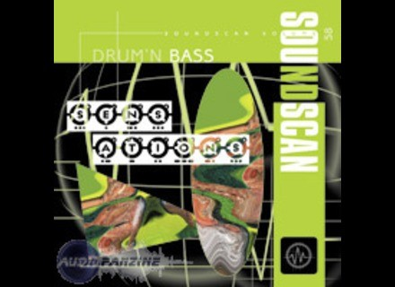 Soundscan 58-DRUM'N BASS SENSATION + CD DÉMO