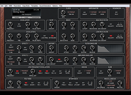 Soundtower SEQUENTIAL PROPHET 6 SoundEditor
