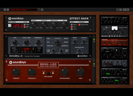 Soundtoys Effect Rack