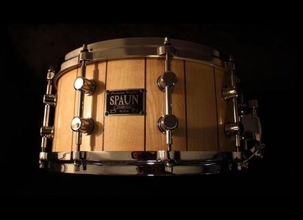 Spaun Drums Solid stave shell
