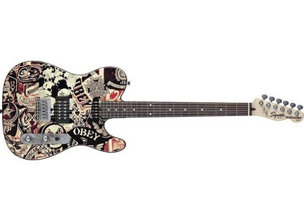 Squier Obey Graphic Telecaster Collage