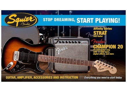 Squier Stop Dreaming, Start Playing