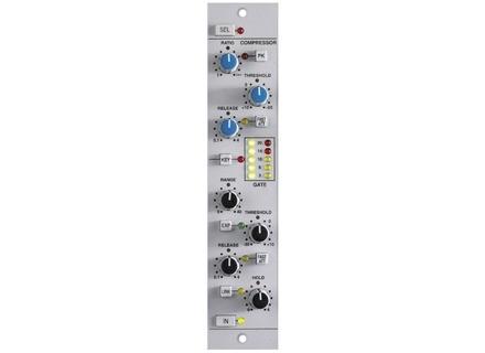 SSL XLogic X-Rack XR618 SuperAnalogue Dynamics Module