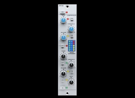 SSL XLogic X-Rack XR728 Stereo Dynamics Module