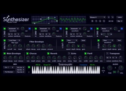 SSynth Sosnowski Synthesizer