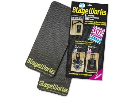 Stageworks Music Instrument Pedal Mats
