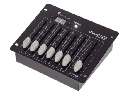 Stairville DDC-6 LCD DMX Controller