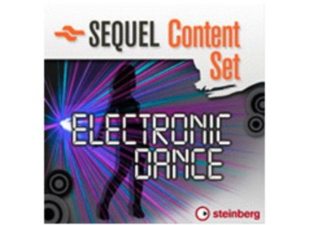 Steinberg Sequel Content Set Electronic Dance