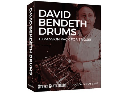 Steven Slate Drums David Bendeth Drums for Trigger