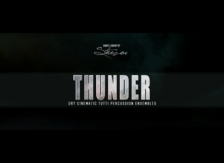 Strezov Sampling Thunder Series