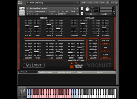 Synth Magic Logan Vocalist for Kontakt