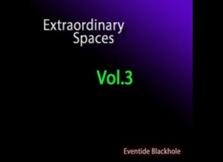 Synth-Presets Extraordinary Spaces Vol.3