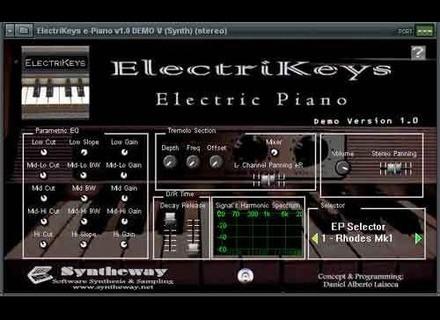 Syntheway ElectriKeys
