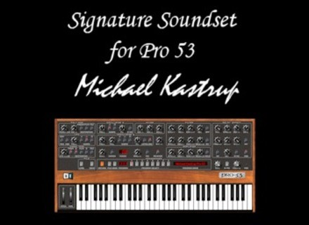 SynthTronic Michael Kastrup Signature Soundset for Pro-53