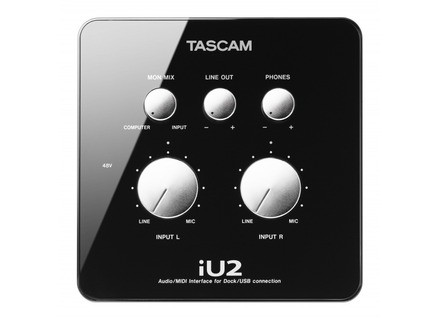 Tascam iU2 Audio/MIDI Interface for iOS