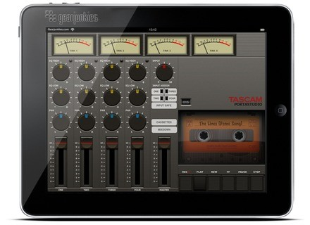 Tascam Portastudio for iPad