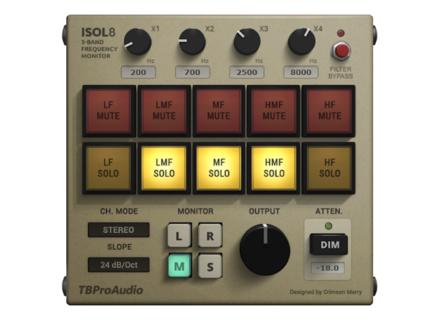 TBProAudio Isol8