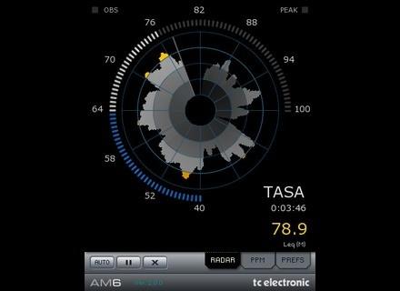 TC Electronic AM6 Radar Annoyance Meter