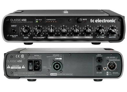 TC Electronic RH Amps