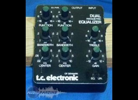TC Electronic Dual Parametric Equalizer