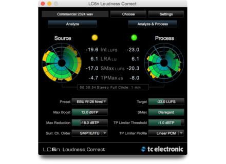 TC Electronic LCn Loudness Correct