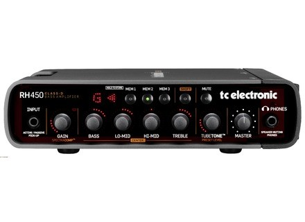 TC Electronic RH Amps