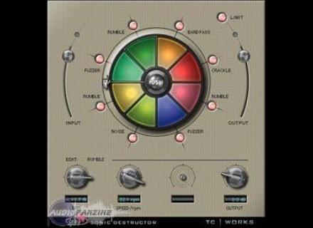 User reviews: TC Electronic Sonic Destructor - Audiofanzine