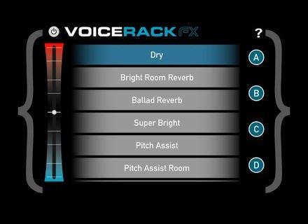 TC-Helicon Voice Rack: FX