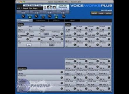 TC-Helicon Vyzor 2.0 Editors