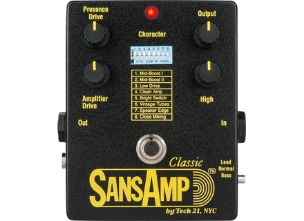 Tech 21 Sansamp Classic Reissue 2021