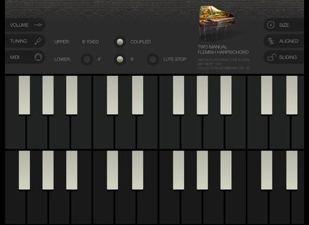 Tempo Rubato Historic Harpsichords - Ruckers 1628