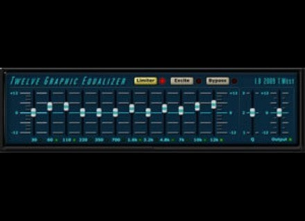 Terry West Plugins Twelve Graphic Equalizer
