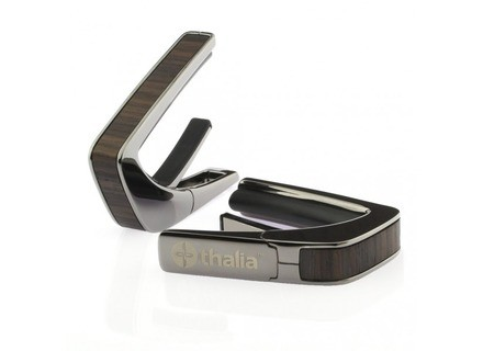 Thalia Capo Indian Rosewood Inlays with Black Chrome Finish