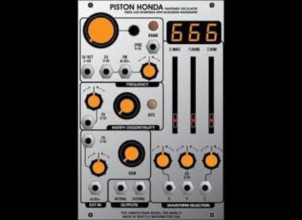 The Harvestman Piston Honda mk2