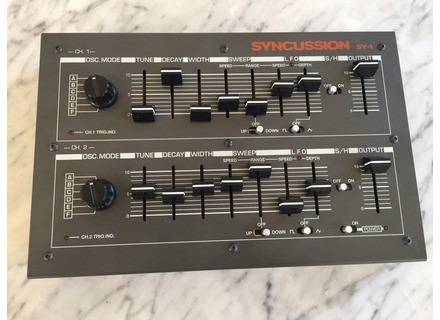 The Human Comparator Syncussion SY-1